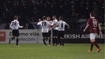 FK Sloboda, slavlje fudbalera Slobode