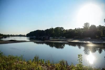 ada ciganlija, sava, ostrvo, jezero, voda, reka, nivo vode, opada, čamac, camac,