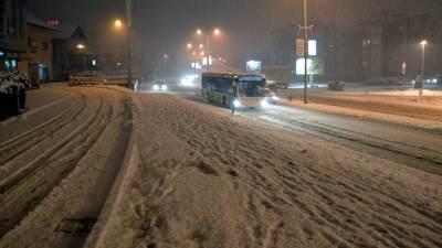 snijeg, tranzit, saobraćaj