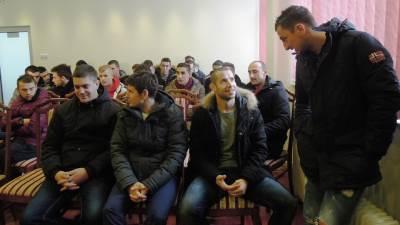 Prozivka FK Borac, početak priprema