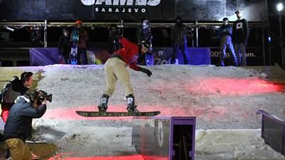 Eyof 2019, Snowboard, Snoubord