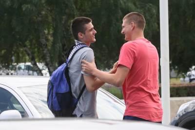 Rade Zagorac i Nikola Jokić