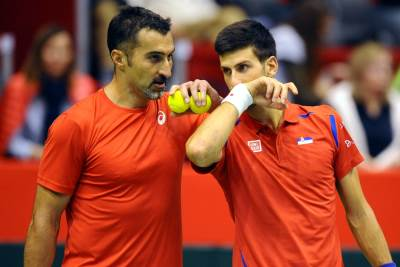 Nenad Zimonjić i Novak Đoković