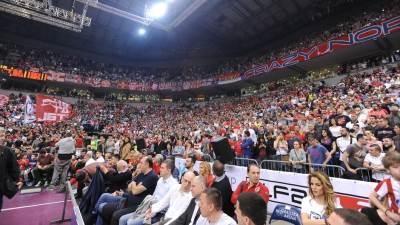 Delije navijači KK Crvena zvezda Arena