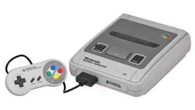 Nintendo, SNES, konzola, retro
