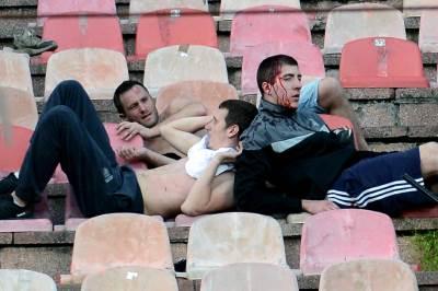 derbi tuča huligani krv fudbal grobari delije