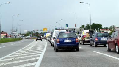 saobraćaj, kolona, gužva, tranzit