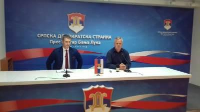 SDS, Miladin Stanić, Dragan Mektić