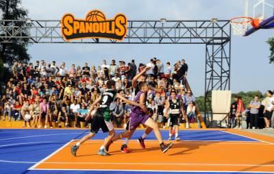 Teren Vasilis Spanulis basket