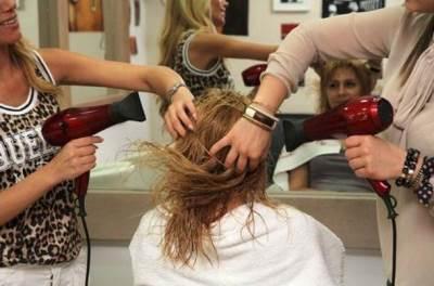 kosa, frizer, feniranje, fen