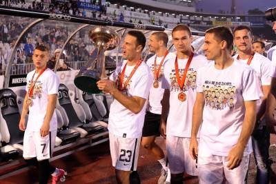 Bojan Ostojić Miroslav Vulićević Partizan