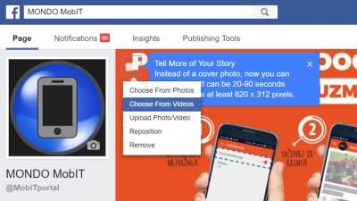 Facebook, Cover video, Facebook tips, Facebook Cover video