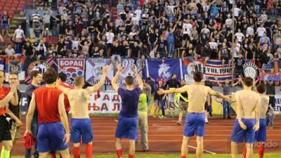 FK Borac, slavlje fudbalera Borca