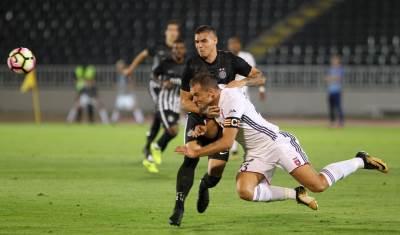 Uroš Đurđević Partizan Videoton