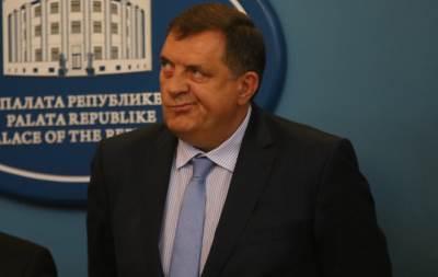 Milorad Dodik grimasa
