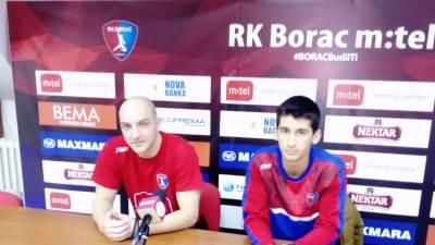 RK Borac m:tel, Bojan Unčanin, Vladan Đurđević