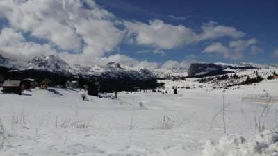 Žabljak Zabljak snijeg sneg zima put putevi