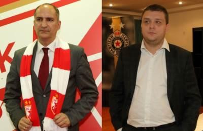 Mitar Mrkela i Miloš Vazura