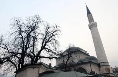sarajevo, Bosna, BIH, minaret, džamija, baščaršija