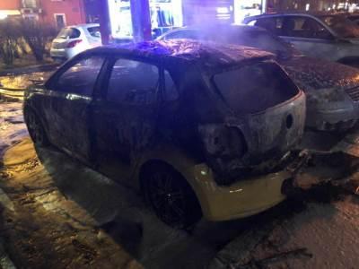 zapaljen automobil kod Pejtona
