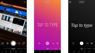 Instagram Type Mode kako se koristi šta donosi
