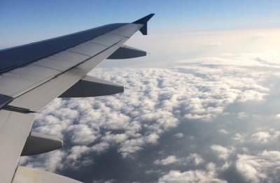 avion, let, nebo, oblaci