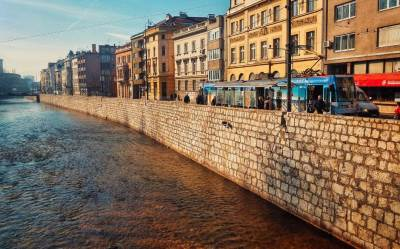 Sarajevo, Miljacka