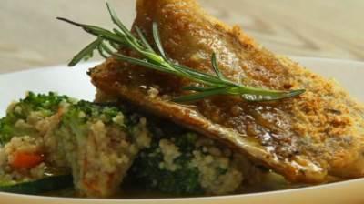 riba, oslić, hrana, jelo