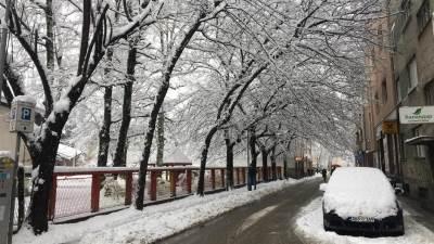snijeg, zima, banjaluka