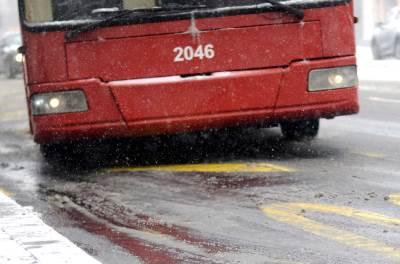sneg, zima, gsp, autobus, trolejbus, bljuzga