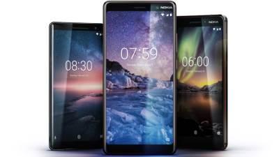 Nokia, Nokia 8 Sirocco, Nokia 6 2018, Nokia 7 Plus
