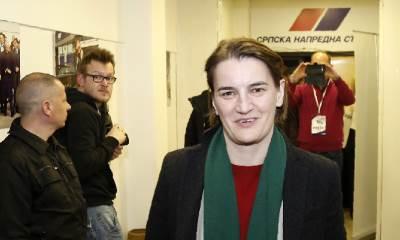 Ana Brnabić, SNS, Brnabić