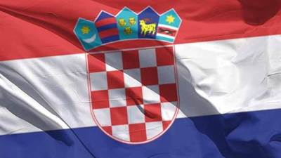 zastava, obeležje, hrvatska