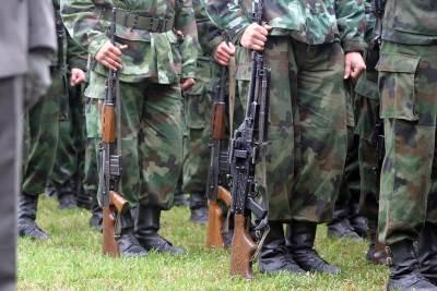 vojska, uniforma, vojnik, naoružanje, puška, oružije