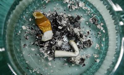 cigareta, pušenje, cigarete, pepeljara