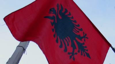 kosovo, albanija, albanska zastava, ovk