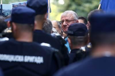 radikali, protest, vojislav šešelj