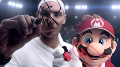 Mario Tennis Aces Rafael Nadal