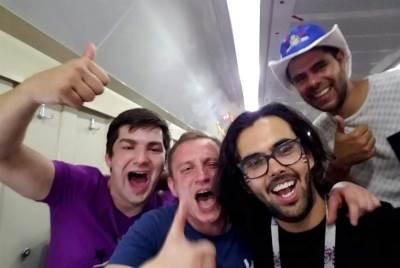 navijači rusija voz kostarika