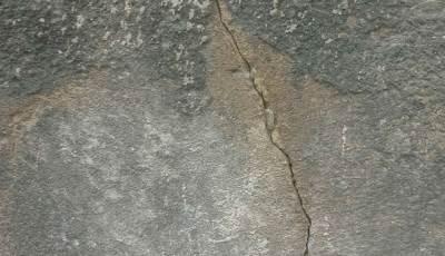 zid, zemljotres, pukotina