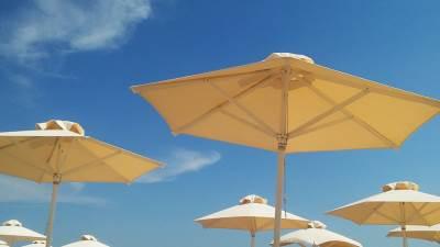 more, plaža, suncobran, letovanje