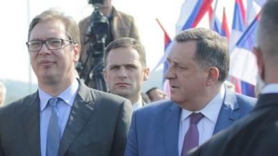 Vučić, Dodik