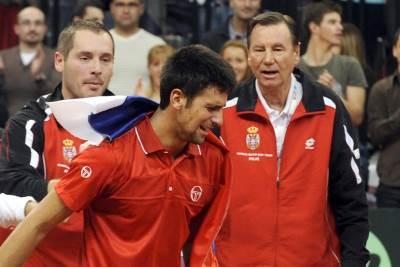 Nikola Pilić Novak Đoković