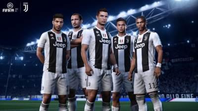 FIFA 19 Ronaldo Juventus