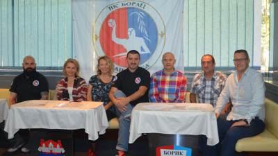 Vaterpolo klub Borac rukovodstvo