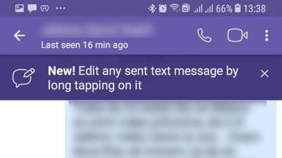 Viber kako izmeniti poslatu poruku, Viber Edit poslate poruke, Viber izmena poslate poruke