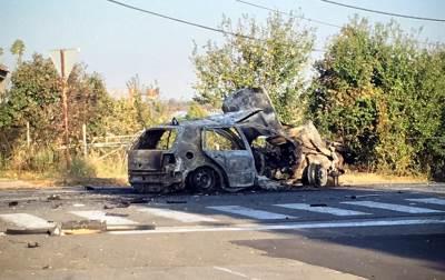 bomba, automobil, eksplozija, spaljen, auto