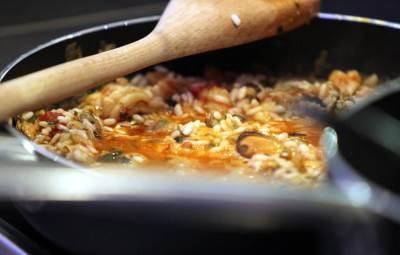 kuvanje, hrana, jelo, kuhinja, restoran, pirinač, rižoto.