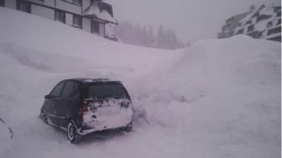 kopaonik sneg smetovi zavejani mecava snezno nevreme