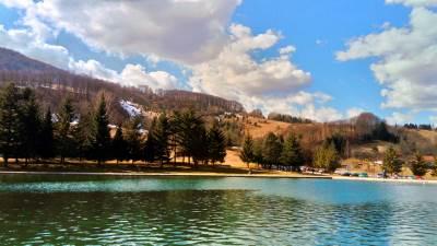 balkana, jezero, priroda, šuma